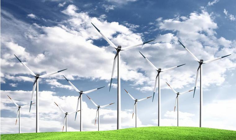 风力发电机的增多 容量也就越大