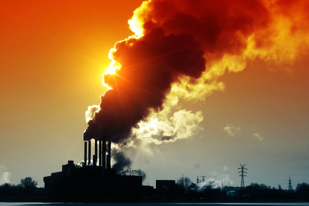 为了让空气污染变好 关闭污染物大的工厂