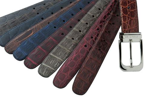 中国独家发售切瑞蒂2011秋冬高级订制男士皮带