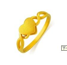 金饰投资入门:周生生黄金戒指款式