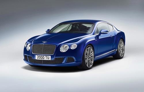 bentley(宾利)发布2013款欧陆gt speed图片