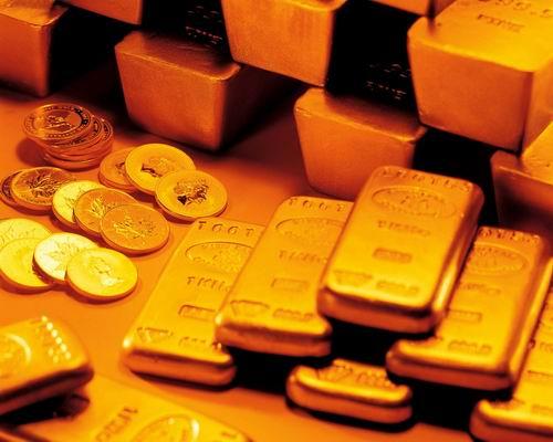 上海黄金期货主力合约周一收盘下跌1.28%-黄