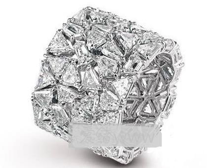 Chopard(萧邦)十款经典铂金钻石婚戒