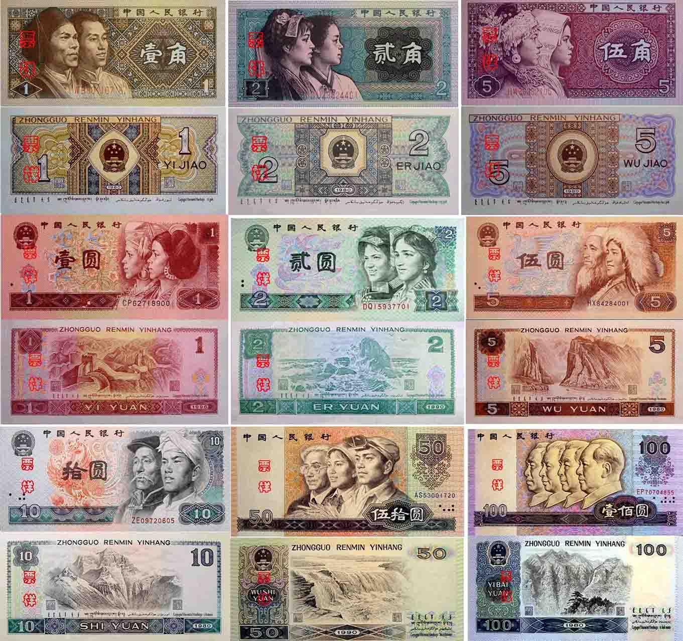 第四套人民币简介