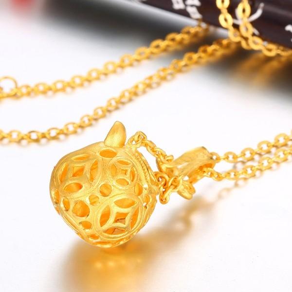 爱迪尔珠宝足金精工开心小福猪吊坠图片 珠宝图片 珠宝产高清图片