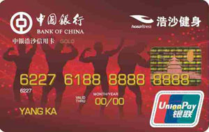 中银浩沙信用卡(银联,人民币,金卡)_中国银行浩沙信用卡申请_中银浩沙信用卡参数-金投信用卡