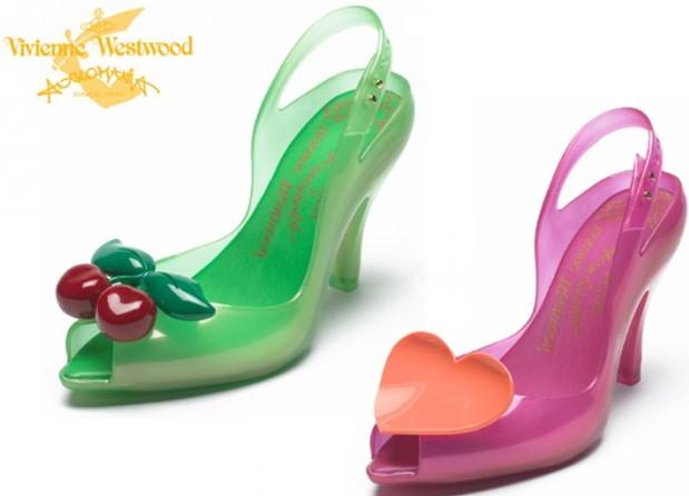 lagerfeld和巴西果冻鞋melissa