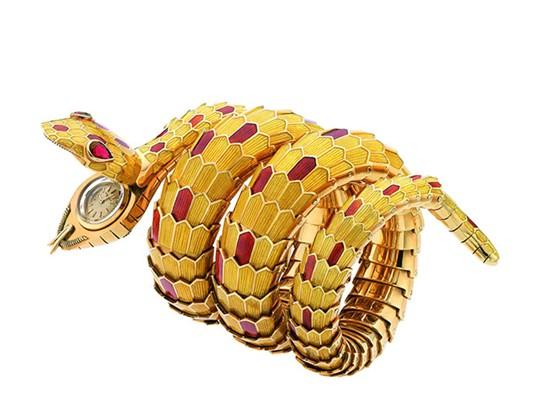 宝格丽「SERPENTI」系列腕表凝练经典蛇文化