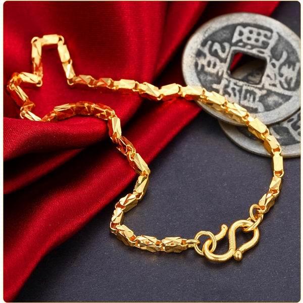 爱迪尔珠宝精工简 爱足金手链图片 珠宝图片 珠宝产品 金高清图片