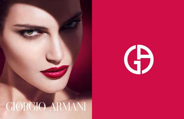 giorgio armani 2013春夏彩妆广告大片图片