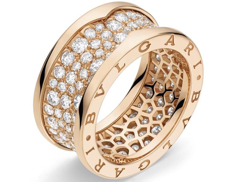 宝格丽B.Zero 1戒指系列珠宝 经典设计再放光芒