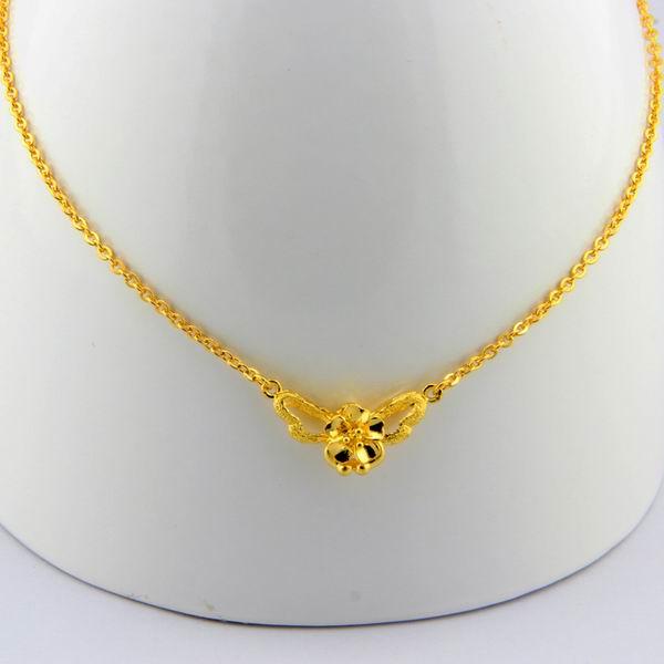 周大生2013新款黄金系列之链牌项链图片_珠宝