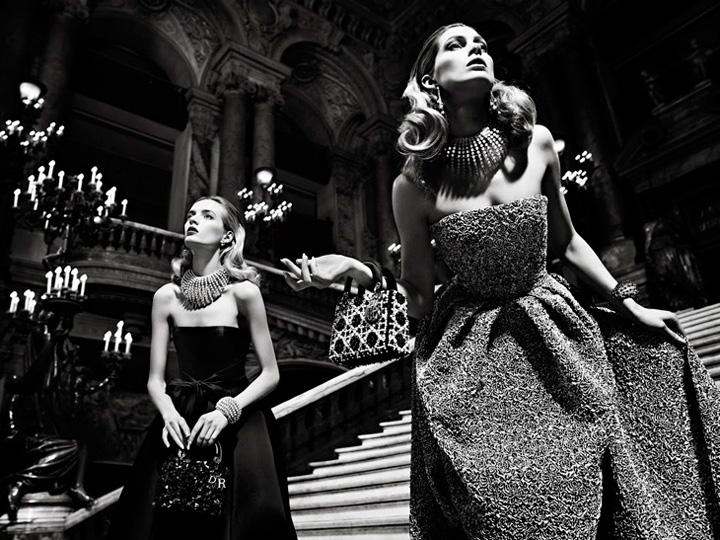 迪奥2013秋季「歌剧院之夜」时尚大片美女照片中国漂亮图片
