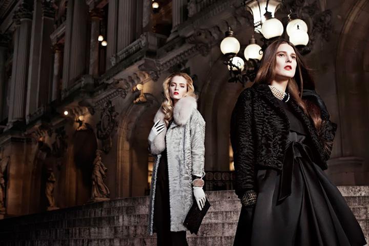 迪奥2013秋季「歌剧院之夜」时尚大片图片