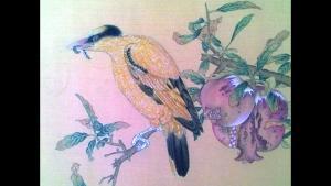 伊朗学生只身来中国学画 称国画神奇有韵味图