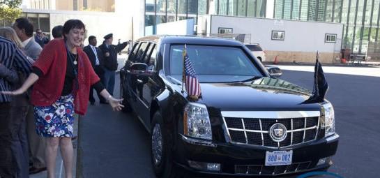 奥巴马御用豪车-凯迪拉克高清图片