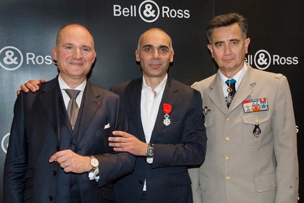 Bell & Ross腕表创作总监获颁法国骑士勋章