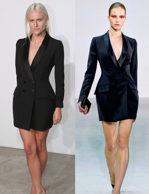 Dior迪奥改良西装裙 引领知性干练风