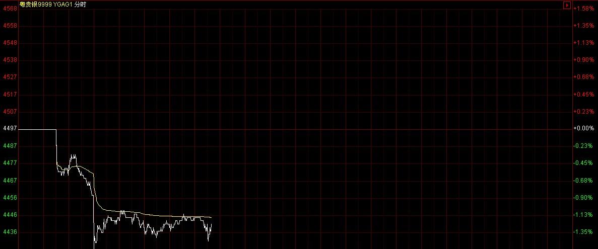2013年10月31日近日粤贵银价格多少钱一克