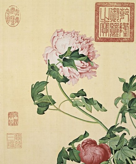 书画收藏与鉴赏 牡丹图