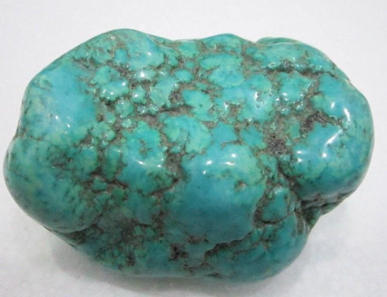 天然绿松石