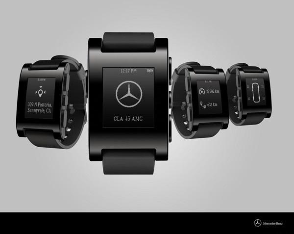 奔驰宣布与Pebble合作生产智能手表