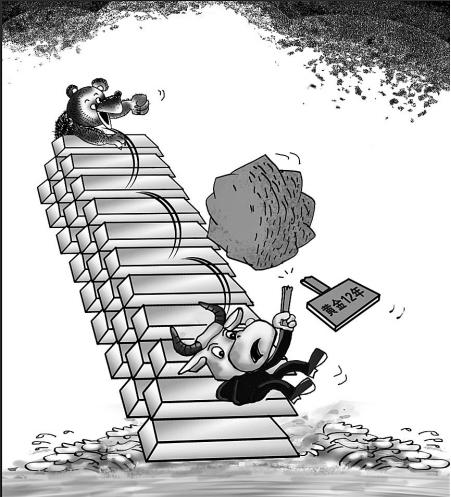 黄金走势可能继续承压 2014坎坷之路或延续