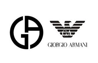 阿玛尼logo 乔治阿玛尼logo 阿玛尼男装皮衣图片