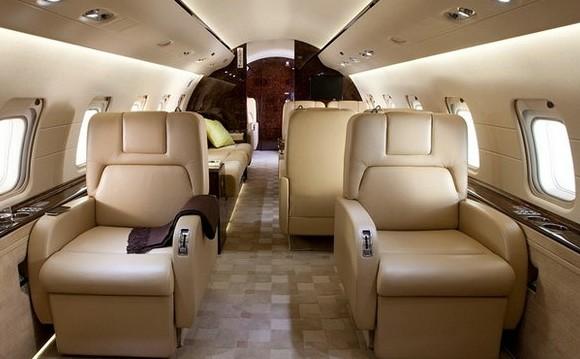 挑战者850私人飞机内饰-挑战者850