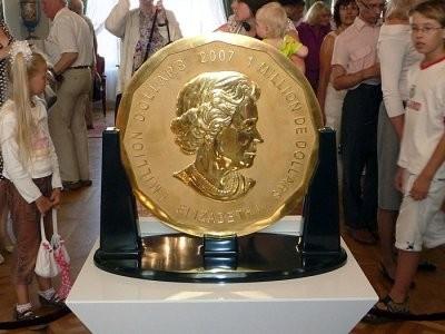 世界最大金币抵达慕尼黑 曾在维也纳艺术史博物馆展出