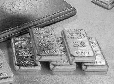 白银价格或重复上周波动 银价难如黄金强势上扬
