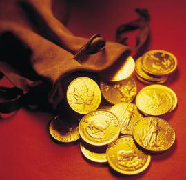 黄金价格有效上破下跌趋势线 本周金价继续上行