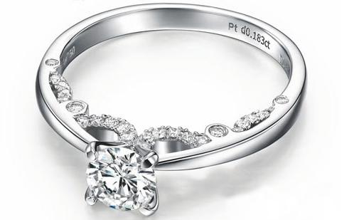 纯净铂金 低调奢华爱情最好的礼物