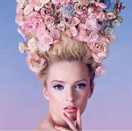 大牌化妆品都爱玫瑰粉 2014春季彩妆主打花瓣色