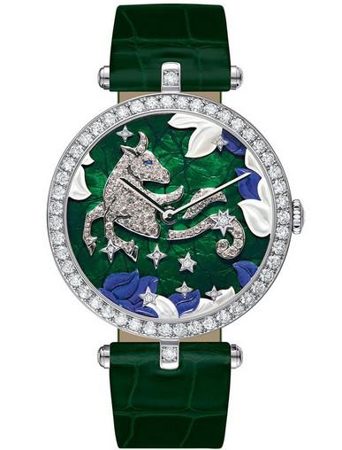 梵克雅宝十二星座系列非凡表盘腕表