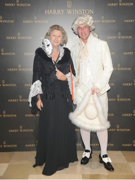 Harry Winston珠宝品牌香港癌症基金会慈善舞会