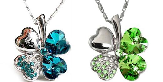 幸运和守护是它的代名词 大牌珠宝品牌都有款四叶草图片