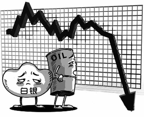 白银价格未跟随金价暴跌 跟随大宗商品走势