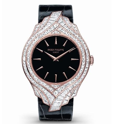 百达翡丽Ref. 4895R Calatrava 高级珠宝腕表