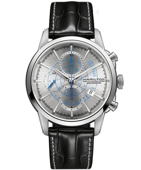 汉米尔顿创厂传奇续作 全新铁路自动计时系列腕表