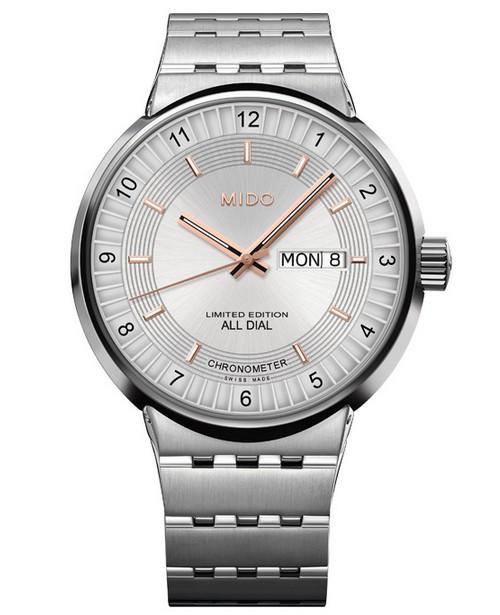 美度表全新完美系列1918限量款男士腕表