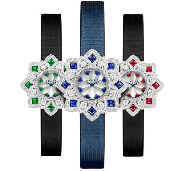 繁花盛放 格拉夫全新「FloralGRAFF」腕表
