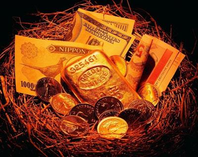 美债收益率下行纳指暴跌 黄金价格获支撑大涨
