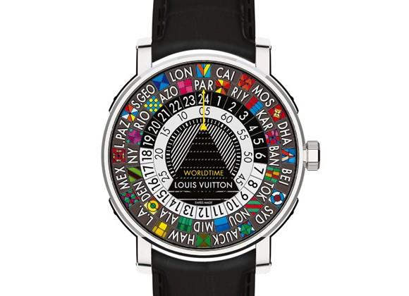 路易威登全新「Escale Worldtime」世界时腕表