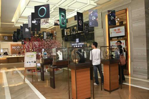 正福國際Mall珠寶精品文化展帶來震撼視覺沖擊