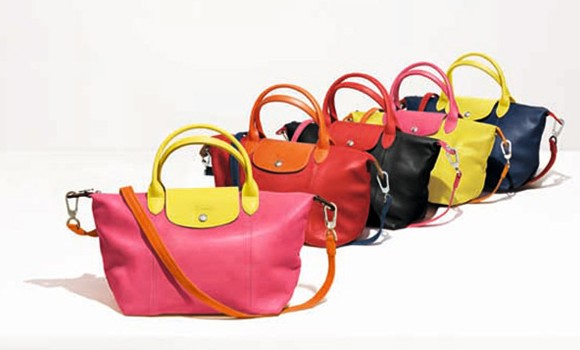Longchamp 珑骧推出小羊皮折叠包个性化定制版