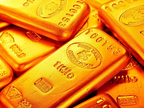黄金报收十字K线形态 金价下跌放缓或有反弹