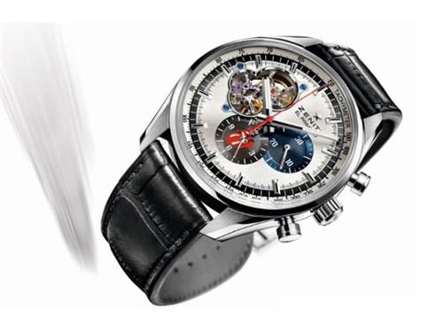 真力时携手滚石乐队推出限量款腕表