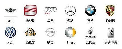 德系车都有哪些品牌?