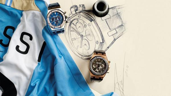爱彼表推出皇家橡树系列里奥内尔·梅西限量版腕表